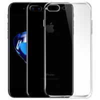 iPhone7Plus手机壳保护套透明软硅胶保护壳 适用于苹果7Plus (5.5英寸)透明壳