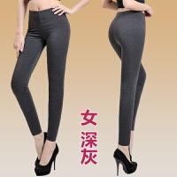 纯 棉裤女高腰修身显瘦外穿内穿加厚打底保暖裤男季 XXX