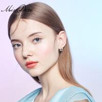 创意简约星星耳钉女气质个性五角星耳环适合短发的耳饰