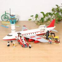 �犯呋�木玩具拼装飞机系列航天飞船火箭大型客机男孩儿童益智模型
