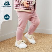 【3折价:30】迷你巴拉巴拉婴儿女修身打底裤宝宝长裤春装新款童装高弹裤子