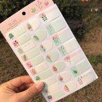 梦多福 创意姓名贴 韩国清新小花可爱儿童防水标签贴手写标记贴纸自粘名字贴 标记分类贴幼儿园儿童记号