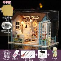 儿童玩具女孩6-7 8 9 10 11 12周岁过家家娃娃屋小女生生日礼物 +音乐+防尘罩