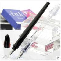 日本百乐/PILOT 百乐钢笔 卡利贵妃速写透明钢笔FP-50R 黑色透明 学生用成人练字手账男孩女孩钢笔