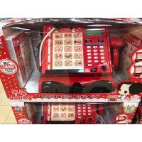 冬己 儿童礼物购物收银机 趣味医疗箱 甜品屋过家家收银机话筒扫描计算益智女孩玩具