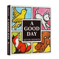 进口英文原版正版 A Good Day Board Book 幼儿英语启蒙3-6岁美好的一天 纸板书 常青藤爸爸推荐书