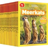(300减100)【一阶段26册】 美国国家地理分级阅读读物 National Geographic Readers L1 level 1阶 儿童科普少儿百科全彩版 L1