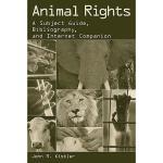 【预订】Animal Rights: A Subject Guide, Bibliography, and