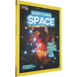 美国国家地理 National Geographic Kids Everything Space 儿童科普少儿奇趣小百科 英文原版 宇宙太空 天文科普