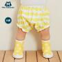 【周年庆 限时秒杀价:29.9】迷你巴拉巴拉男女宝宝短裤夏季新品婴儿纯棉灯笼PP裤子短款