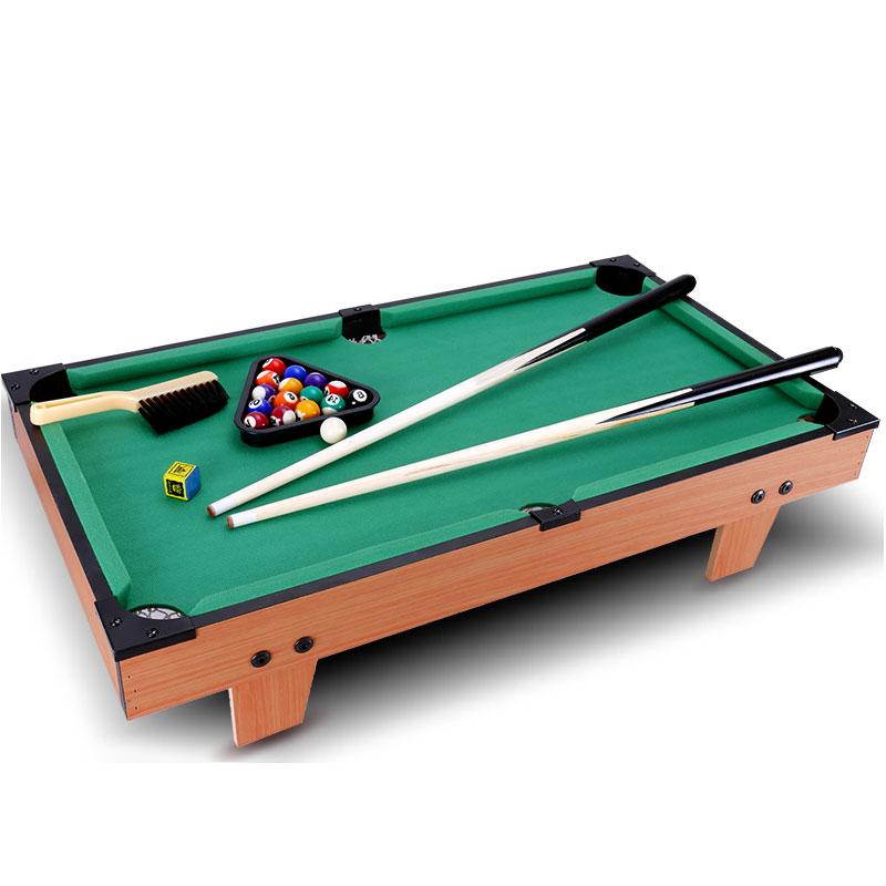 儿童台球桌家用美式大号益智桌球台男孩运动亲子互动桌面游戏玩具