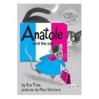 Anatole and the Cat 英文原版儿童书 《阿纳托尔和猫》(1958年 凯迪克银奖)
