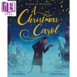 【中商原版】Mike Redman :圣诞颂歌 A Christmas Carol 名家绘本 低幼童书 亲子绘本 圣诞