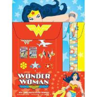 【预订】Wonder Woman Mix and Match Stationery [With