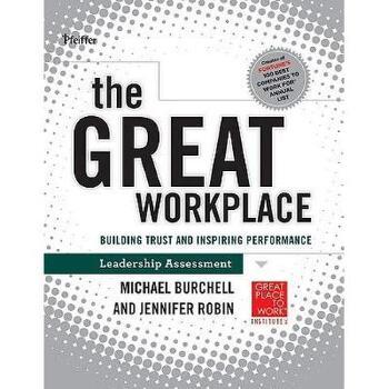 【预订】The Great Workplace: Building Trust And Inspiring 美国库房发货,通常付款后3-5周到货!