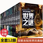未解之谜青少版小学生版 套装12册 世界中国未解之谜大全 你不可不知的恐龙动物海洋地球自然人类宇宙科学UFO与外星人兵器