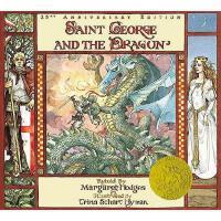 Saint George and the Dragon 英文原版儿童书 《圣乔治和龙》(1985年凯迪克金奖绘本)