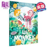 【中商原版】Marta Altés:小猴子 Little Monkey 平装 精品绘本 儿童性格培养启蒙绘本 亲子睡前阅
