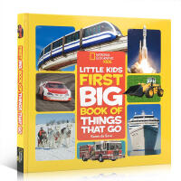 英文原版 国家地理交通工具Little Kids First Big Book of Things That Go启蒙