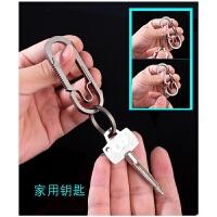 钥匙扣情侣创意简约遥匙钥扣环男士汽车腰式圈链