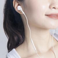 耳机原�b入耳式通用女生6s适用iPhone苹果vivo华为oppo小米魅族x9x20线控重低音炮耳塞