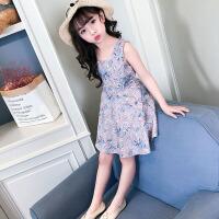 女童夏装连衣裙2018新款韩版儿童装碎花裙子女大童时尚洋气公主裙