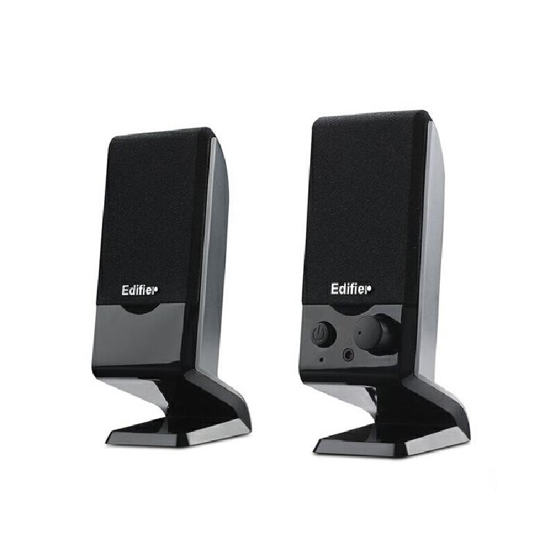 Edifier/漫步者R10U音响电脑台式音箱家用重低音客厅小音响2.0迷你小音箱 低音炮笔记本usb音响