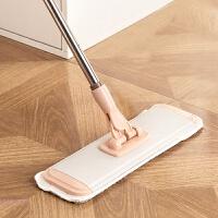 360度旋转静电木地板平板拖把 家用懒人粘贴式拖布免手洗地拖