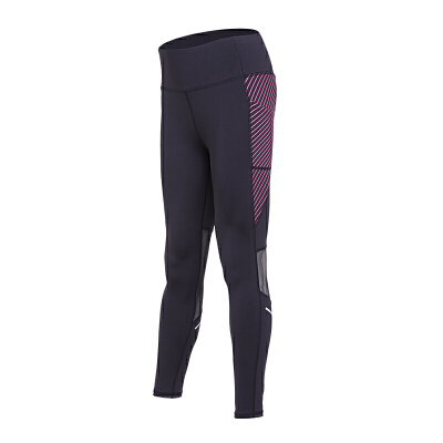 运动裤女子夏季新款时尚印花紧身裤透气速干健身弹力九分裤