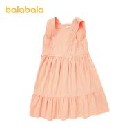 【3件5折价:90】巴拉巴拉女童公主裙儿童裙子夏装大童连衣裙无袖时尚森系