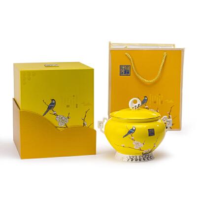 陶瓷茶叶罐普洱茶包装盒储茶罐礼盒