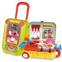 儿童3合1医具拉杆箱旅行箱玩具厨具蛋糕饰品拉杆箱过家家玩具