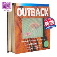 【中商原版】Outback 3D立体绘本陆地 The Amazing Animals of Australia 儿童ST
