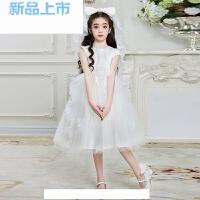 儿童礼服公主裙女中大童连衣裙主持人钢琴演出服花童蓬蓬拖尾长裙