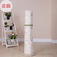 布艺棉麻塔扇罩防尘罩子美的格力圆立柱式电风扇防尘套订做生活日用居家创意