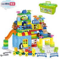 �犯咄婢� 积木玩具3-6周岁男孩7-9-10岁儿童拼装