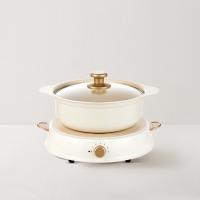 【网易严选明星好物】日本设计 电磁炉陶瓷锅