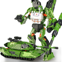 变形玩具金刚大黄蜂警车汽车机器人手办模型正版男孩坦克儿童恐龙