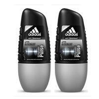 阿迪达斯adidas 男士走珠香水香体止汗露液滚珠50ml 两只装 激情走珠0030