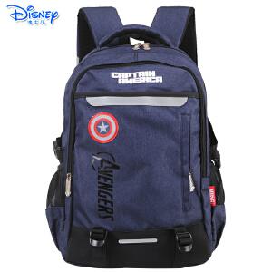 迪士尼休闲包中学生高年级大容量书包双肩包小学生书包