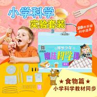 博学少年实验包食物篇 小学生科学实验玩具套装科技小制作儿童圣诞礼物发明材料学习用品