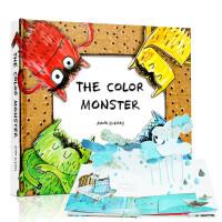The Color Monster 英文原版 我的情绪小怪兽立体书 绘本纸板童书情商绘本 Anna Llenas