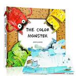 The Color Monster 我的情绪小怪兽立体书 英文原版绘本纸板儿童书情商绘本 Anna Llenas