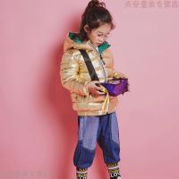 儿童棉衣2018新款宝宝衣服男童冬装外套女童冬季加厚百搭