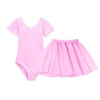 儿童舞蹈服练功服女童长袖芭蕾服套装幼儿跳舞服纯棉