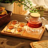 花茶壶 红茶壶 加热 煮茶壶 玻璃茶具套装
