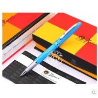 毕加索PS-608安格丽斯湖蓝特细财务笔 学生钢笔 财务钢笔