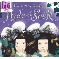【中商原版】Katie May Green:Hide and Seek 猜猜秀 精品绘本 儿童亲子故事绘本 平装 英文原