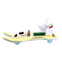 水陆两栖电动轮船玩具银河战士 空气动力快艇拼接模型