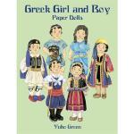 【预订】Greek Girl and Boy Paper Dolls